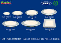 China DALI 4 in 1 PWM Dimmable Round LED Panel Light 40W Surface Mounted , Cool White distributor
