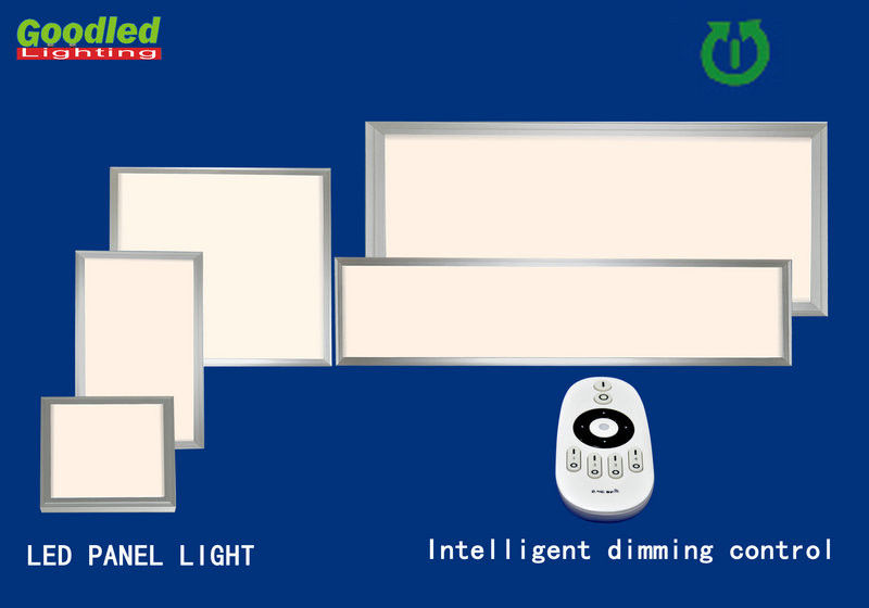 300x300 25 W Super Slim Dimmable Led Panel Light 1600lm Remote