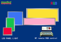 10W 800LM Surface Mounted RGB LED Panel Light 180x180 mm RF Remote Control