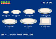 Diameter 180mm LED Recessed Panel Down light 10W 4000K IP40 Round